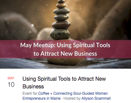 Using Spiritual Tools to Attract New Business