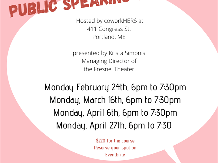 Public Speaking Skills for Women