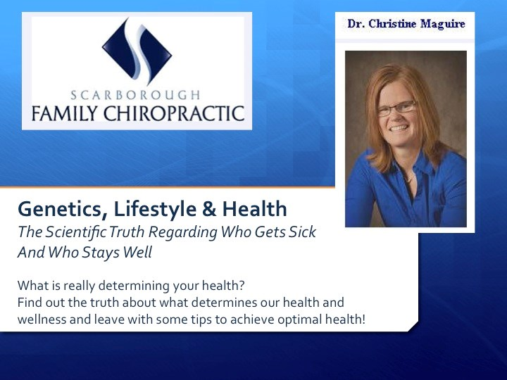 Dr. Chris Mcguire - Special Guest - Genetics, Lifstyle & Health