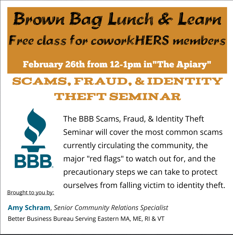 Scams, Fraud, & Identity Theft